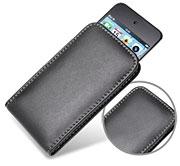 PDAIR レザーケース for iPod touch(4th gen.) バーティカルポーチタイプ