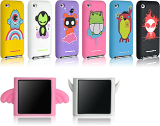 ZU Series Silicone case for iPod Touch 4G/DIABLO - BEARAPHIM case for iPod Nano 6G