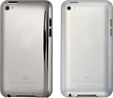 エアージャケットセット/シリコーンジャケットセット for iPod touch 4th