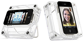 Griffin AirCurve Play Acoustic amplifier for iPhone 4