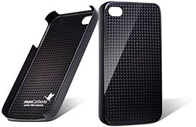 monCarbone HoverCoat iPhone4 Carbon Fiber Case