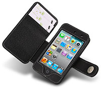 iPod touch(第4世代)用本革ケース(ブックタイプ)