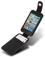 iPod touch(第4世代)用本革ケース(フリップタイプ)
