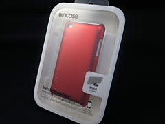 Incase Metallic Snap Case for iPod touch (4th gen) レッド