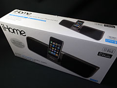 iHome iP56 Rechargeable Portable Stereo System for iPhone and iPod