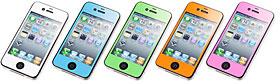 SoftBank SELECTION カラーシール for iPhone 4