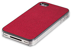 avenue-d Premium Leather Jacket for iPhone 4