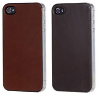 Premium Leather Jacket for iPhone 4