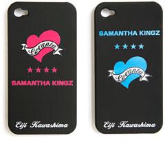 SAMANTHA KINGZ 川島選手コラボ iPhone4用背面カバーパネル
