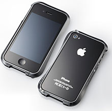 CLEAVE ALUMINIUM BUMPER for iPhone 4