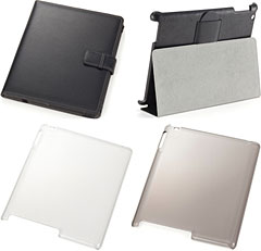 SoftBank SELECTIONのiPad 2用ケース