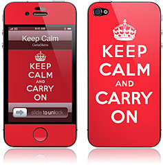 GelaSkins/KEEP CALM AND CARRY ON