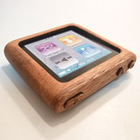 Mahogany DESIGN Case for iPod nano 6th