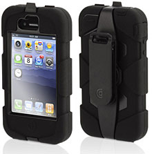 Griffin Survivor + Beltclip for iPhone 4
