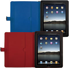 Stitch Line Leather Case for iPad 2