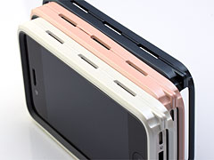 Monocoque #01 Pearl Color unit kit for  iPhone 4