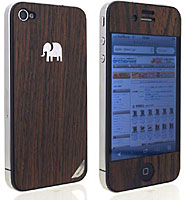 TRUNKET wood skin for iPhone 4