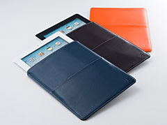 Leather Sleeve Case for iPad 2