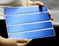 SHIMURA Metal Jacket iPad 2 Protector