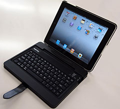MENOTEK Bluetooth キーボード付 iPad レザーケース