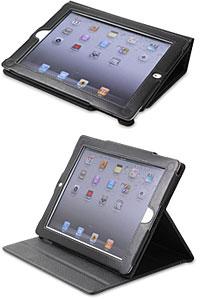 PDAIR レザーケース for iPad 2 横開きタイプ