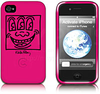Keith Haring Collection Bezel Case for iPhone 4