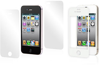 moshi Film Protector Set for iPhone 4/moshi iVisor AG for iPhone 4 White