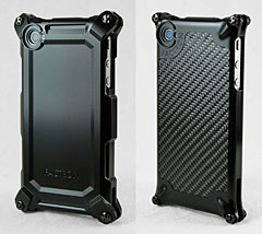 FACTRON Quattro for iPhone4 HD SP BLACK on BLACK