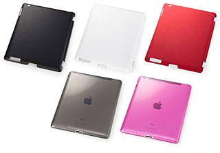 SoftBank SELECTION ラバーケース for iPad 2(iPad Smart Cover併用タイプ)/ソフトケース for iPad 2