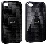 monCarbone Magnet-Force iPhone 4 Carbone Fiber Case