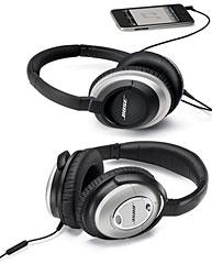 Bose AE2i audio headphones/QuietComfort 15