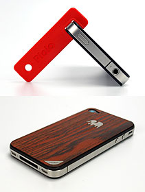 Piolo for iPhone 4/TRUNKET wood skin for iPhone 4