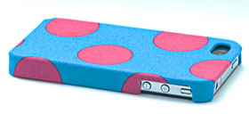 SECOND SKIN FABRIC CASE for iPhone 4