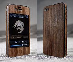 dubmagic iPhone 4 Natural Wood Jacket