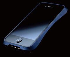 CLEAVE ALUMINIUM BUMPER for iPhone 4 ミッドナイトブルー