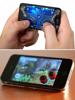 Fling mini/Classics Arcade buttons for smartphone