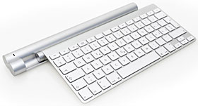 The Magic Bar Inductive Charger for the Apple Wireless Keyboard & Magic Trackpad