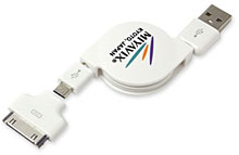 リトラクタブルケーブル for iPod/iPhone/iPad & スマートフォン