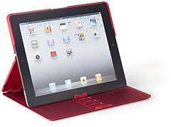 ラバーケース (スタンド機能付) for iPad 2