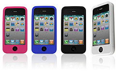 特厚シリーズ Silicone Case for iPhone 4S