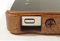 LIFE iPhone 4S/4兼用木製ケース