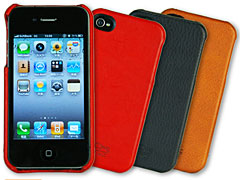 iPhone 4 Italian Leather Case for iPhone 4/4S