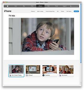 Apple - iPhone 4S - TV Ad - Siri, Snow Today
