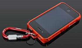 alumania EDGE LINE for iPhone 4S/4 センターフックアダプター