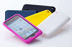 Simplism Silicone Case Set for iPod touch (4th)