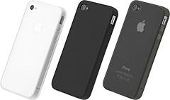 パワーサポート シリコーンジャケットセット for iPhone 4S/4