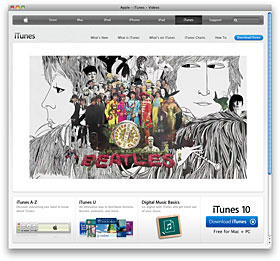 Apple - iTunes - The Beatles - TV Ad - Covers