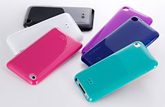 Simplism Semi Hard Case Set for iPod touch (4th)