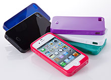 Simplism Semi Hard Case Set for iPhone 4S