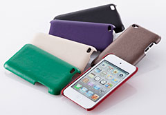 Simplism Leather Cover Set for iPod touch (4th)